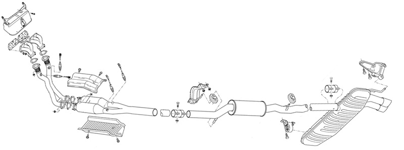 mk4 golf  diagram on full 4motion oem exhaust and full